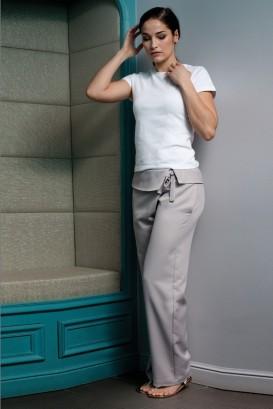 Pantaloni THAI light gray