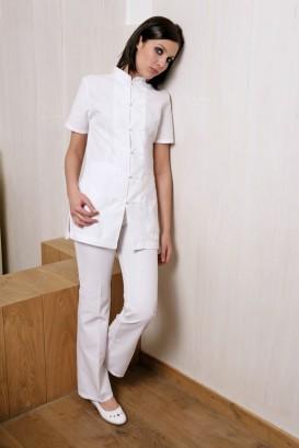 Pantaloni INDOCHINE bianco