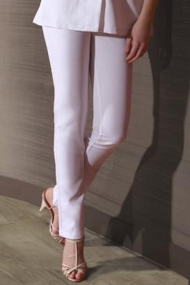 Pantalone Savane Donna Bianco