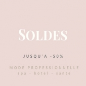 Les soldes commencent aujourd'hui. Découvrez vite les tenues professionnelles jusqu'à -50% ici :  https://www.beautystreet.fr/promotions  #mode #hotel #uniforme #spauniform #aesthetic #hotelfashion #soldes #aesthetic #beautyparlour #vetementprofessionnel #glamouratwork #modedurable #ecoresponsable #esthetician #estheticiennes #spa #workingirl #confortautravail #bienetreautravail #wellnessfashion #comfortfashion